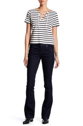 7 For All Mankind Micro Flare Jean Blue