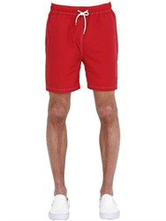 Brooks Brothers Nylon Swimming Shorts With Logo Detail