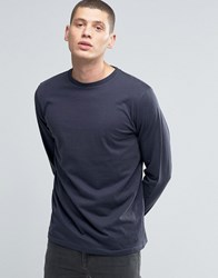 Another Influence Long Sleeve T Shirt Navy