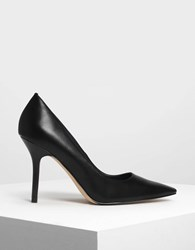 Charles And Keith Classic Stiletto Pumps Black
