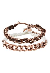 Icon Brand 2 Pack Bracelet Brown