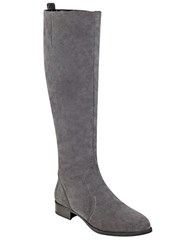 Nine West Nicholah Tall Riding Boots Grey