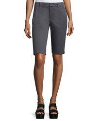 Vince Side Buckle Bermuda Shorts Women's Iron