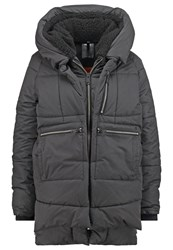 Replay Winter Coat Antracite Anthracite