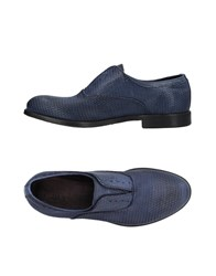Pawelk's Lace Up Shoes Slate Blue