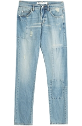 Mcq By Alexander Mcqueen Distressed Skinny Jeans