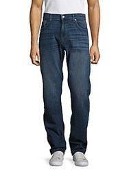 7 For All Mankind Luxe Performance Standard Straight Leg Jeans Monte Carlo