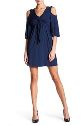 Voom By Joy Han Aliana Dress Blue