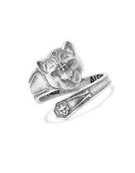 Alex And Ani Wild Heart Spoon Ring Silver