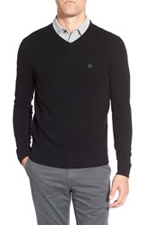 Ag Jeans Men's Ag 'Arbor' Wool And Cashmere V Neck Sweater Caviar