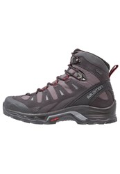 Salomon Quest Prime Gtx Walking Boots Magnet Black Red Dalhia Dark Grey