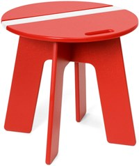 Loll Designs Racer Side Car Table Apple Red Cloud