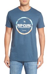 Rip Curl Men's Style Master 17 Premium T Shirt Dark Denim