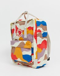 Fjall Raven Fjallraven Kanken Backpack In Camo Multi