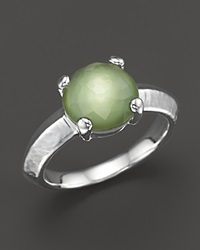 Ippolita Rock Candy Single Stone Ring In Seagrass Green