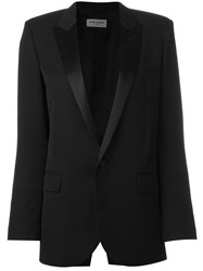 Saint Laurent 'Iconic Le Smoking 80'S' Jacket Black