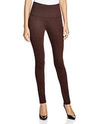 Lysse High Waist Ponte Leggings Heather Brown
