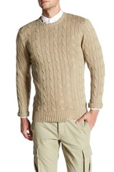 Dockers 30Th Anniversary Campus Cable Sweater Beige