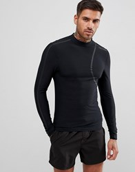 Calvin Klein Cutting Edge Rashguard Black