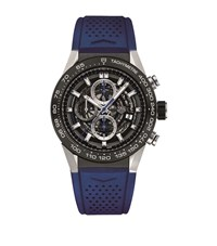Tag Heuer Carrera Calibre 01 Skeleton Watch Unisex Black