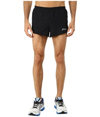 Asics Split Shorts 3 Performance Black Men's Shorts
