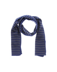 Obvious Basic By Paolo Pecora Oblong Scarves Blue