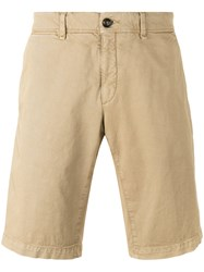 Moncler Chino Shorts Nude Neutrals