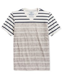 American Rag Men's Two Tone Stripe T Shirt Only At Macy's Stone Block