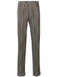 Missoni Pinstripe Tailored Trousers Neutrals