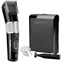 Babyliss For 7468U Carbon Steel Clipper Black Silver