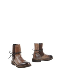 O.X.S. Ankle Boots Brown