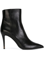 Fendi Stiletto Heel Boots Black