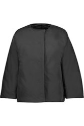 Jil Sander Shell Down Coat Black