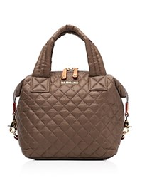 M Z Wallace Mz Small Sutton Satchel Fawn Oxford