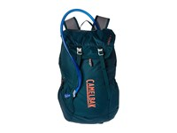 Camelbak Arete 18 50 Oz Deep Teal Hot Coral Backpack Bags Blue