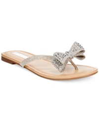 Inc International Concepts Women's Malissa Bow Thong Sandals Women's Shoes