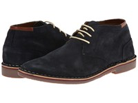 Kenneth Cole Reaction Desert Sun Navy Men's Lace Up Boots
