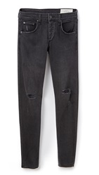 Rag And Bone Standard Issue Standard Issue Fit 1 Jeans Rock With Holes