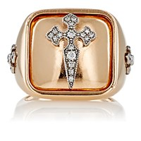 Stone Women's B.D. Signet Ring No Color
