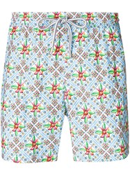 Capricode Printed Swim Shorts Multicolour