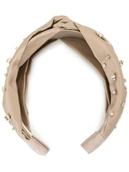 Jennifer Behr Lilian Headband Neutrals