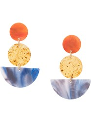 Rachel Comey Neale Earrings Orange