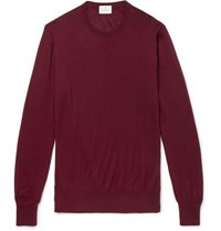Kingsman Cashmere Sweater Burgundy
