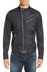 Dieselr Men's Diesel 'Cri' Zip Moto Jacket Black