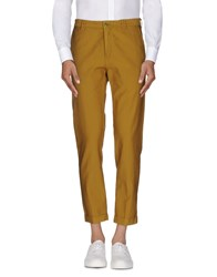 Reporter Trousers Casual Trousers Men Ocher