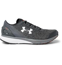 Under Armour Charged Bandit 2.0 Rubber Trimmed Mesh Running Sneakers Gray