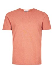 Selected Homme Dark Pink T Shirt