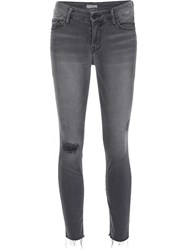 Mother 'Last Chance Saloon' Jeans Grey