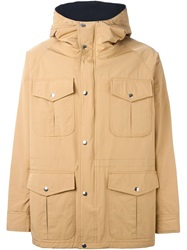Soulland 'Reid' Hooded Parka Nude And Neutrals