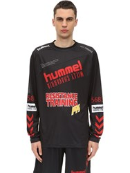 Hummel Willy Chavarria Karlsen T Shirt Black